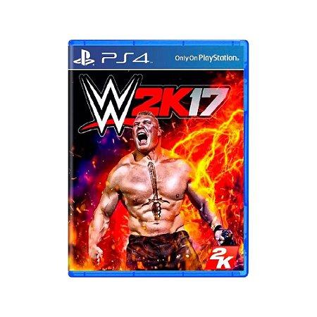 WWE 2K17 - Usado - PS4