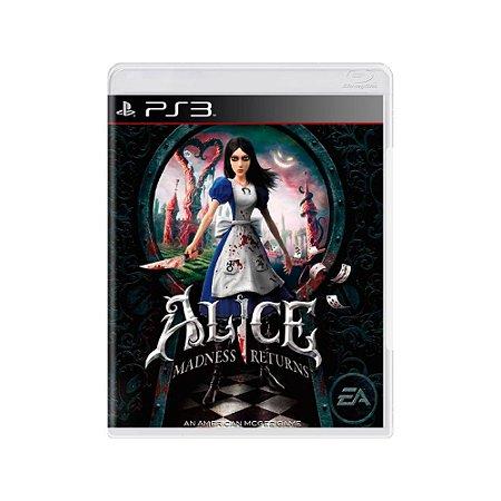 Alice Madness Returns - Usado - PS3