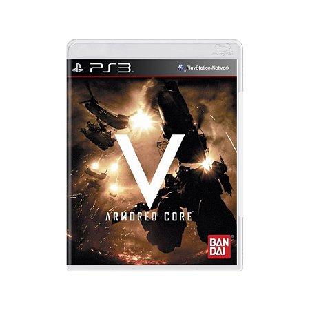 Armored Core V - Usado - PS3