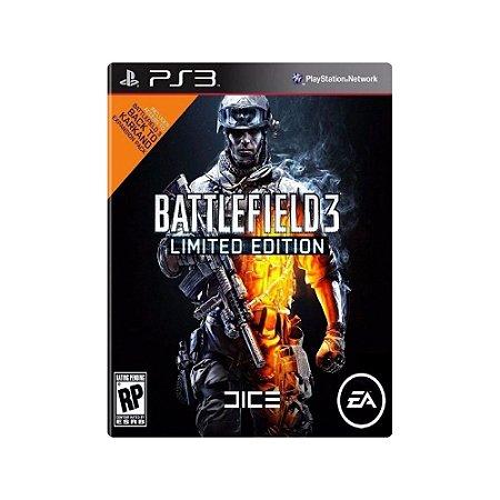 Battlefield 3 (Limited Edition) - Usado - PS3
