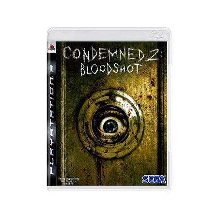 Condemned 2 Bloodshot - Usado - PS3