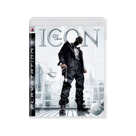 Def Jam Icon - Usado - PS3