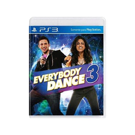 Everybody Dance 3 - Usado - PS3
