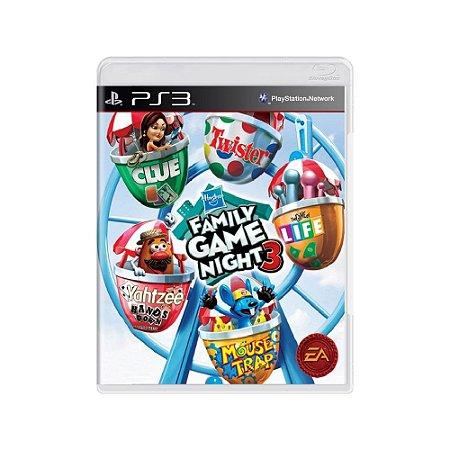 Hasbro Family Game Night 3 - Usado - PS3