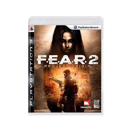 FEAR 2 Project Origin - Usado - PS3