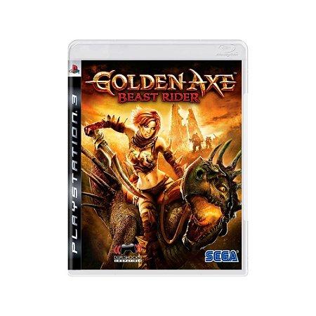 Golden Axe Beast Rider - Usado - PS3