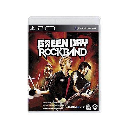 Green Day Rock Band - Usado - PS3