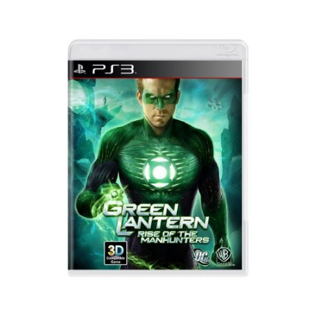 Green Lantern Rise of the Manhunters - Usado - PS3