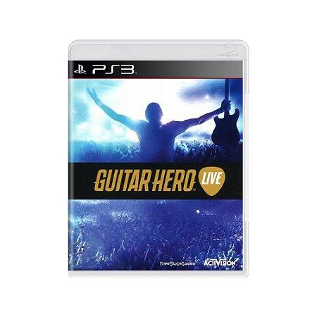 Guitar Hero Live - Usado - PS3