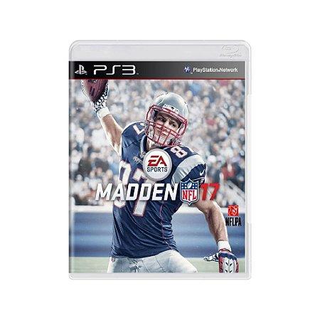 Madden NFL 17 - Usado - PS3