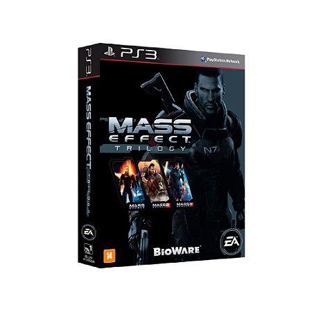 Mass Effect Trilogy - Usado - PS3
