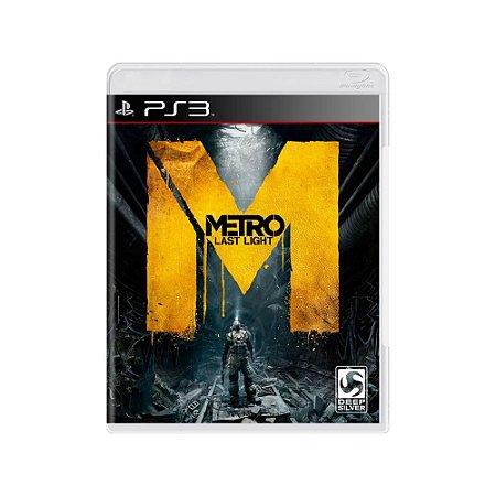 Metro Last Light - Usado - PS3