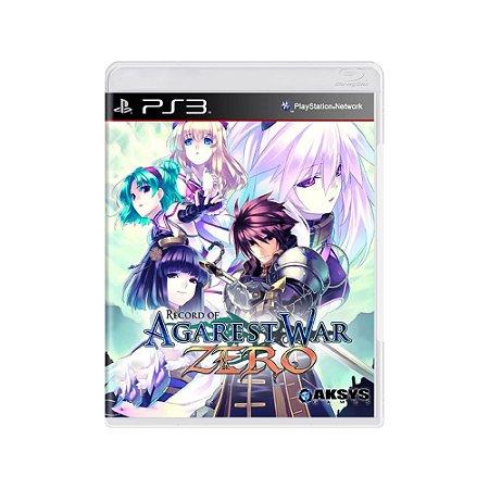 Record of Agarest War Zero - Usado - PS3
