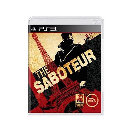 The Saboteur - Usado - PS3