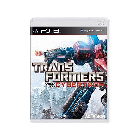 Transformers War for Cybertron - Usado - PS3