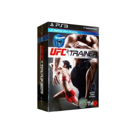 UFC Personal Trainer The Ultimate Fitness System Box - Usado - PS3