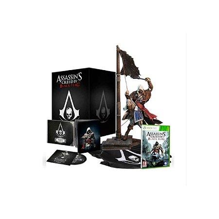 Assassin's Creed IV Black Flag Limited Ed - Usado - Xbox 360