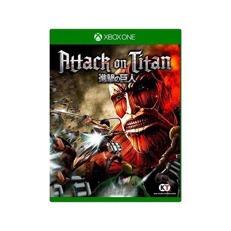 Attack On Titan - Usado - Xbox One