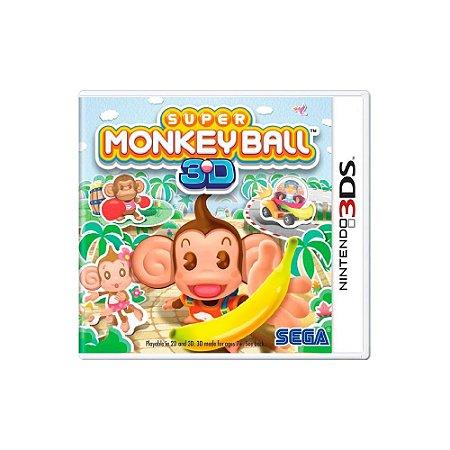 Super Monkey Ball 3D - Usado - 3DS