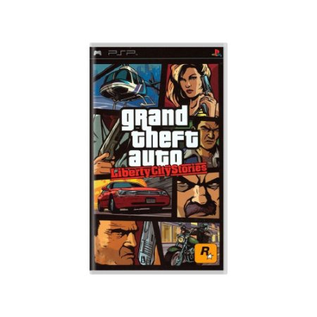 Grand Theft Auto Liberty City Stories - Usado - PSP