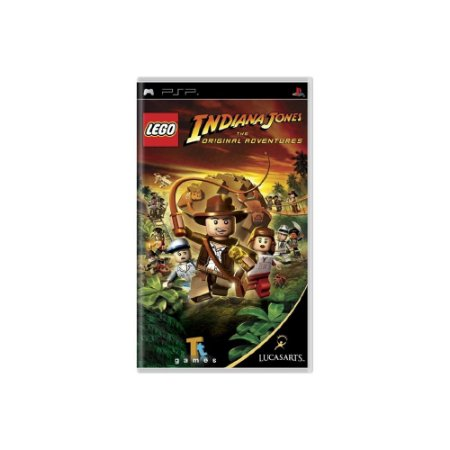 LEGO Indiana Jones The Original Adventures - Usado - PSP