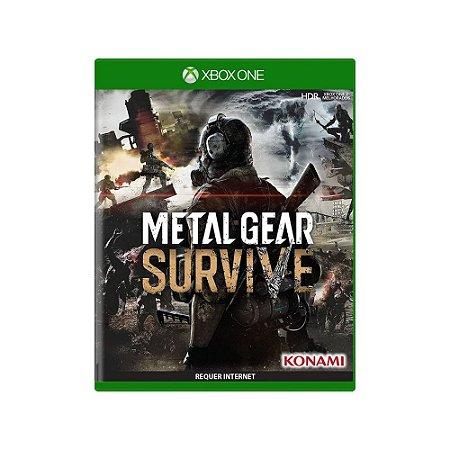 Metal Gear Survive - Usado - Xbox One