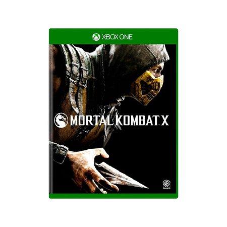 Mortal Kombat X - Usado - Xbox One
