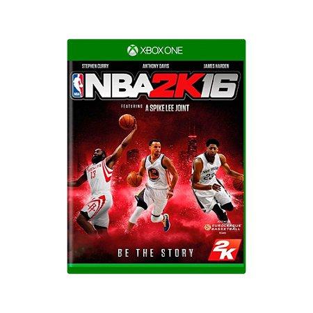 NBA 2K16 - Usado - Xbox One