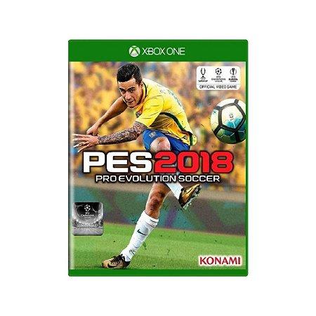 Pro Evolution Soccer 2018 (PES 2018) - Usado - Xbox One