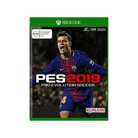 Pro Evolution Soccer 2019 (PES 2019) - Usado - Xbox One