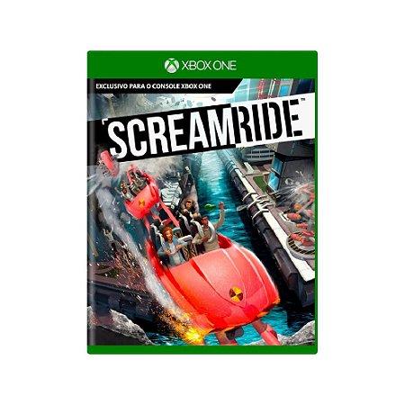 Screamride - Usado - Xbox One