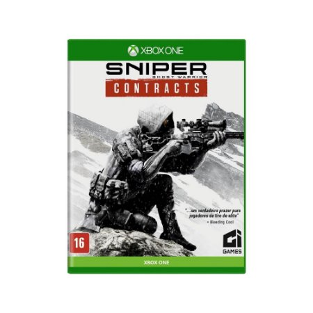 Sniper Ghost Warrior Contracts - Usado - Xbox One