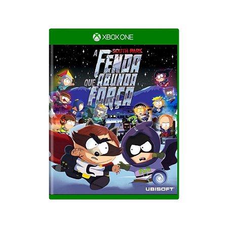 South Park A Fenda que Abunda Força - Usado - Xbox One