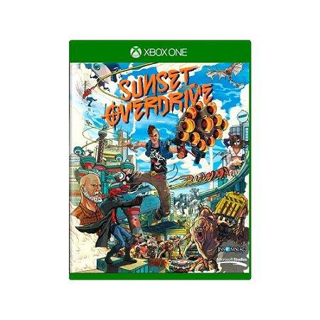 Sunset Overdrive - Usado - Xbox One