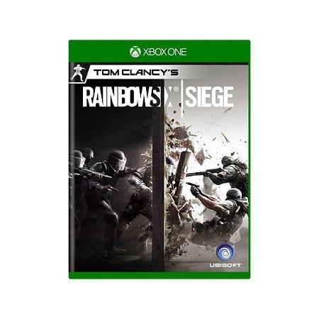 Tom Clancy's Rainbow Six Siege - Usado - Xbox One