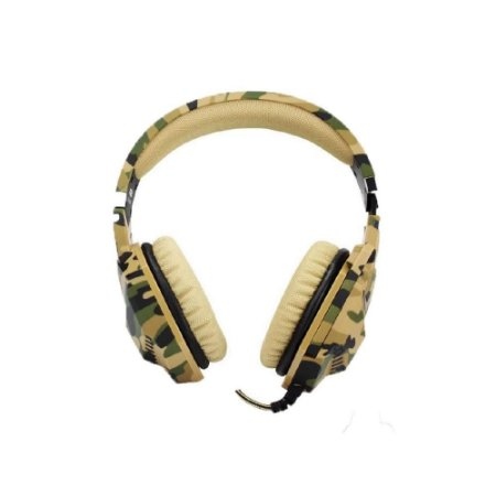 Headset Camuflado Dex Df-508