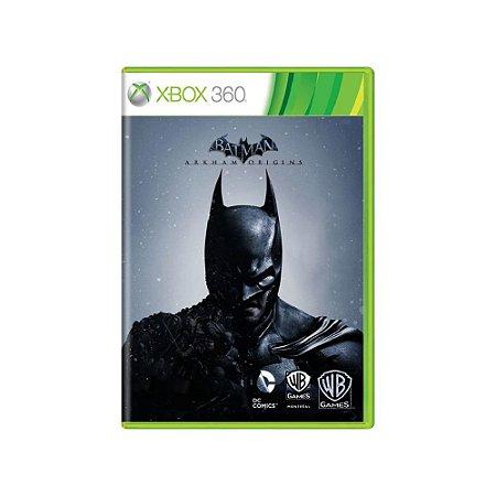 Batman Arkham Origins - Usado - Xbox 360
