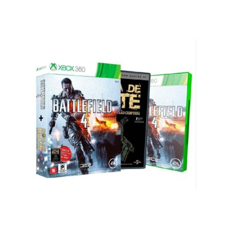 Battlefield 4 + Filme Tropa de Elite - Usado - Xbox 360