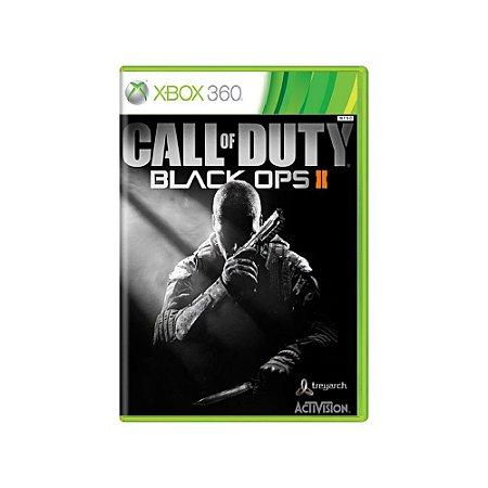 Call of Duty Black Ops II - Usado - Xbox 360