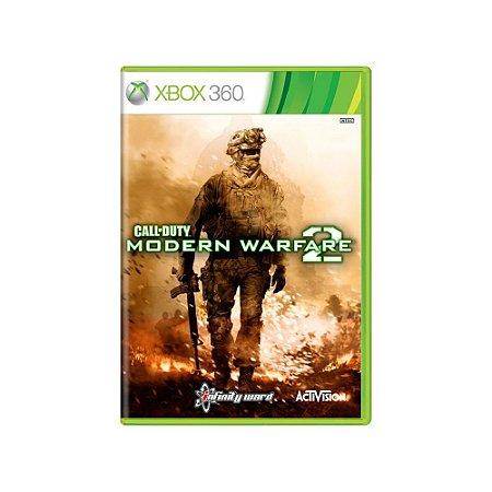 Call of Duty: Modern Warfare 2 (Alemão) - Usado - Xbox 360