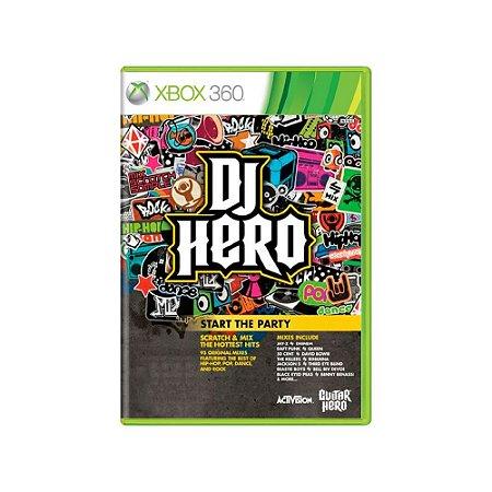 DJ Hero - Usado - Xbox 360