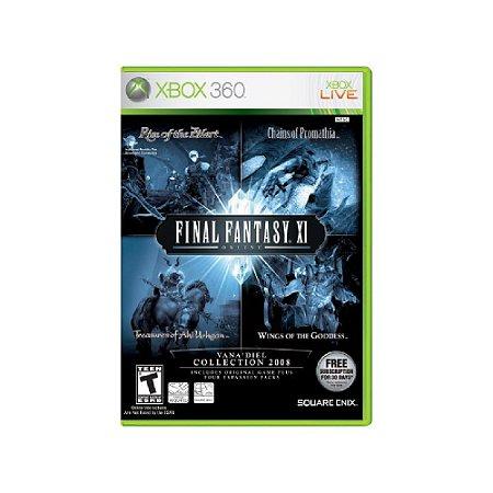 Final Fantasy XI Online - Usado - Xbox 360