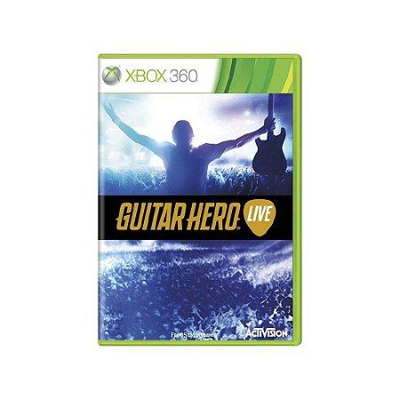 Guitar Hero Live - Usado - Xbox 360