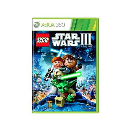 LEGO Star Wars III: The Clone Wars - Usado - Xbox 360