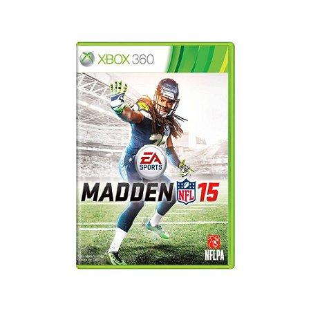 Madden NFL 15 - Usado - Xbox 360