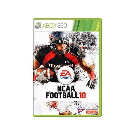 NCAA Football 10 - Usado - Xbox 360