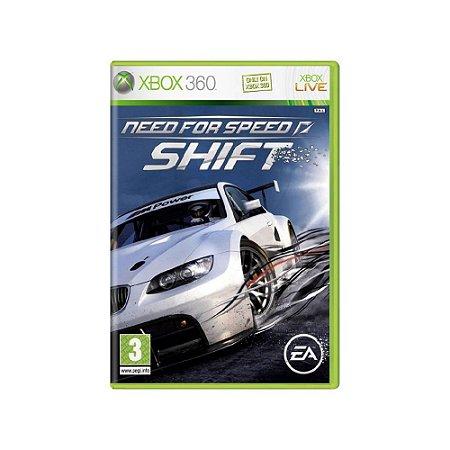 Need for Speed Shift (Europeu) - Usado - Xbox 360