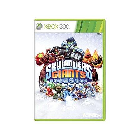 Skylanders Giants - Usado - Xbox 360