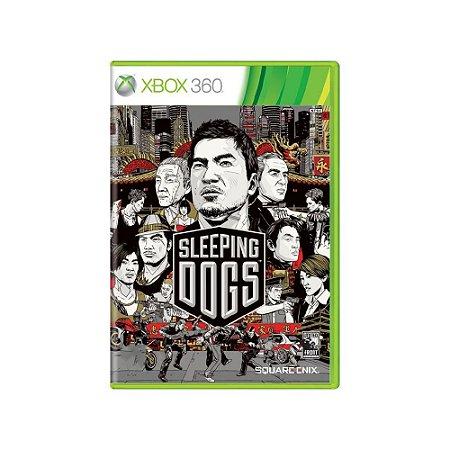 Sleeping Dogs - Usado - Xbox 360