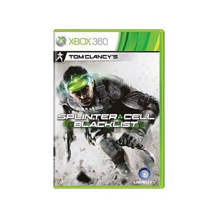 Tom Clancy's Splinter Cell Blacklist - Usado - Xbox 360
